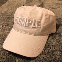 TEMPLE team logo Round Cap White《数量限定》