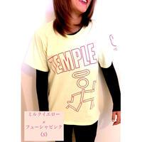 《数量限定》TEMPLE neo BIGラインTシャツ