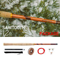 【SAWTOOTH PACKAGE】(12フィート) / (TENKARA011)