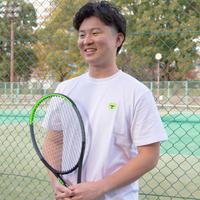 テニスベアオリジナル Tシャツ(ホワイト)