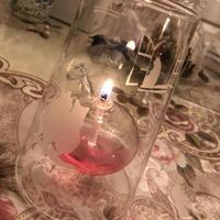 癒し猫のオイルランプ