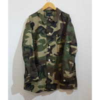 COOCHUCAMP[クーチューキャンプ]/Happy Shirt Coat