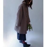 michirico[ミチリコ] / Quilting long coat (womens)