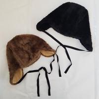 UJU[ウジュ] / フェイクファー帽子