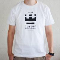 CUBOIDトーナメントTシャツ(白)