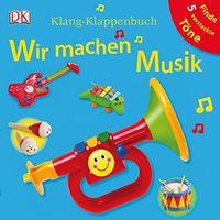 (入手困難)音の出る絵本「Wir machen Musik」月齢18カ月から ドイツ語ボードブック