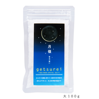 ge tsure i   /  新月の塩 大100g