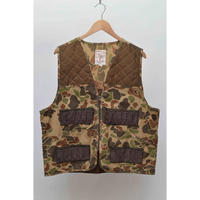 80s90s Camouflage Hunting Vest