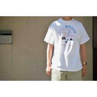 "U.S.VINTAGE 90'S ""BOSTON"" プリントTシャツ"