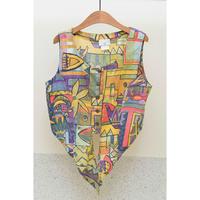 GEORGE GEORGIOU Multi Pattern Vest