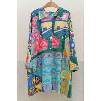 LAUREN by Ralph Lauren Multi Pattern Shirt