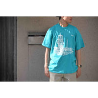 U.S.VINTAGE 80S グラフィックプリントTシャツ
