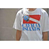 "U.S.VINTAGE 90S ""CAYMAN ISLAND"" プリントTシャツ"