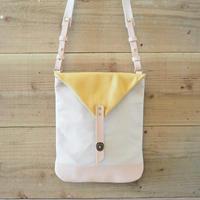 帆布Book Bag(アイボリー×マスタード)