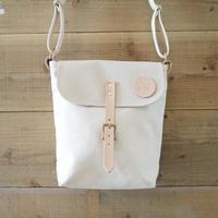 帆布ポスティングバッグ(ホワイト×アイボリー)