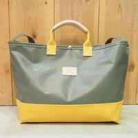 Two Fabrics Bag(カーキ×マスタード)