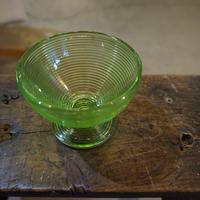 コンポートガラスB/ウランガラス