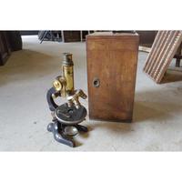 Wetzlar 顕微鏡 真鍮