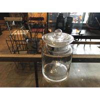 蓋付きガラス瓶 S