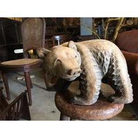 木彫りの熊③