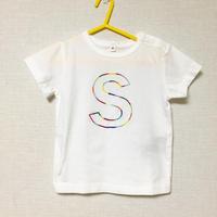 イニシャル刺繍Tシャツ