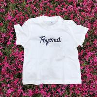 name刺繍Tシャツ(110〜)
