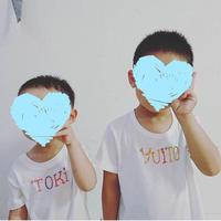 name刺繍Tシャツ(80〜100)