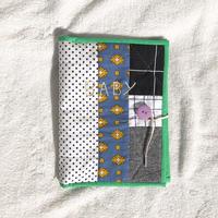 母子手帳ケース(男の子ママ)*名入れ刺繍