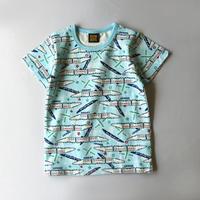パジャマ 半袖上下セット 新幹線柄_P4001