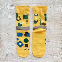 POP.POP.POP靴下 / task_yellow