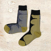Artist Proof × Socks Appeal 靴下 / WOVEN BLACK