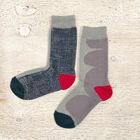 Artist Proof × Socks Appeal 靴下 / WOVEN RED