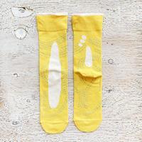 POP.POP.POP 靴下 / maru_yellow