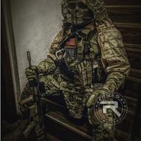 エアガ サバゲー 戦術 4色展開 サバゲー カモフラージュ 自作の演出素材に!ギリーフード用ベース 素材に! スナイパー 狙撃 ギリースーツ サバイバルゲーム