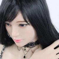 フィメールマスク 仮装 女装 コスプレ フィメール シリコン マスク ハーフフェイス タイプ 残り1点
