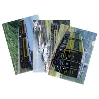 <無くなり次第終了>A列車で行こうクリアファイルセット(3枚)【TD043】