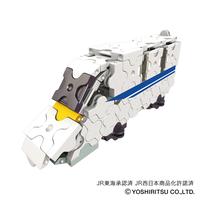 LaQ トレイン N700系新幹線のぞみ【D11Z38】