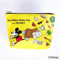 Waku Waku Tripシリーズ ポーチ(ミッキー)【D10Z56】