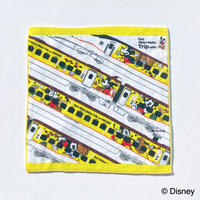 Waku Waku Tripシリーズ ミニタオル(ミッキー/新幹線)【D10Z61】