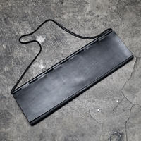 BIG WALLET HINGE CLUTCH BAG