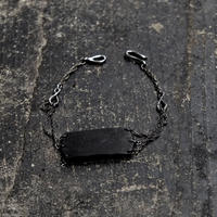 LEATHER PLATE BANGLE