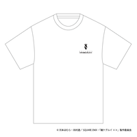 SOLOMON×賭ケグルイ××「桃喰綺羅莉 T-Shirts」(WHT)