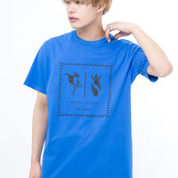 GRANBLUE FANTASY×SOLOMON Collaboration Logo T-Shirts(BLUE)