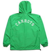 CARROTS | UNIVERSITY ANORAK JACKET (GREEN)