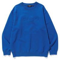 XLARGE EMBOSSING STANDARD LOGO CREWNECK SWEAT(BLUE)
