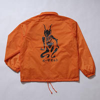 "Oh!theGuilt  / ""角"" TSUNO COACH JACKET(オレンジ)"