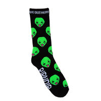 RIPNDIP | WE OUT HERE SOX (BLACK)