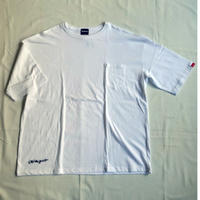 Oh!theGuilt | BIG POCKET S/S T-SHIRT(ホワイト)