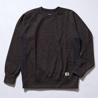 Oh!theGuilt:SIDE PANEL SWEATER(ミックスブラウン)