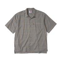 SON OF THE CHEESE | 3/4 Length Shirt(GREY CHECK)
